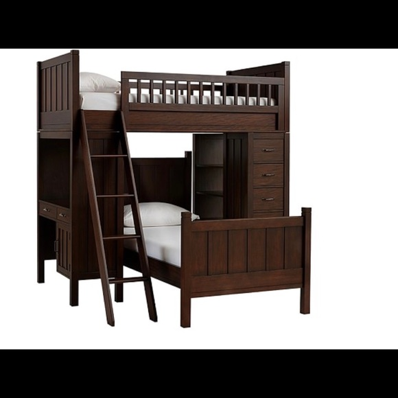 Pottery Barn Kids Bedding Camp Twin Bunk Bed System Poshmark